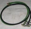 Fiberbricka med kabel baklampa