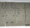 Bromsbandsats 63x255mm