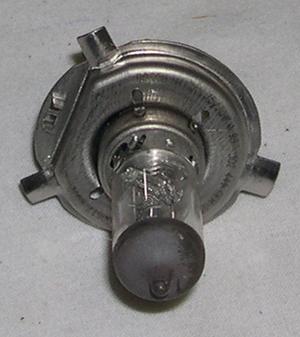Glödlampa H4 24V