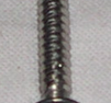 Plåtskruv rostfri 3x17mm