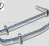 Stötfångarsats BMW 1500-1800-2000 rostfritt stål