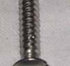 Plåtskruv rostfri 3x26mm