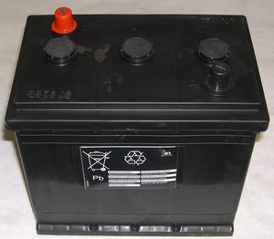 Batteri 6 Volt 140 amp.