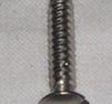 Plåtskruv rostfri 4x26mm