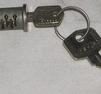 Låscylinder tändningslås