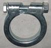 Avgasklamma 55-52mm
