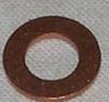 Kopparbricka 4x8x1