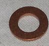 Kopparbricka 6x12x1