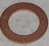 Kopparbricka 10x16x1