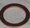 Kopparbricka 12x19x1