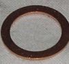 Kopparbricka 13x19x1,5