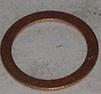 Kopparbricka  16x22x1