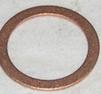 Kopparbricka 22x29x1,5