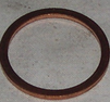 Kopparbricka 26x32x1,5
