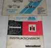 Instruktionsbok INTERNATIONAL SCOUT