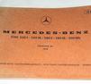 Katalog sprängskisser MB 250, 280, 300