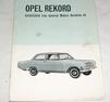 Instruktionsbok OPEL REKORD A