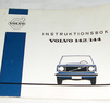 Instruktionsbok VOLVO 142/144