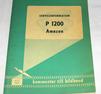 Instruktionsbok  VOLVO AMAZON P1200